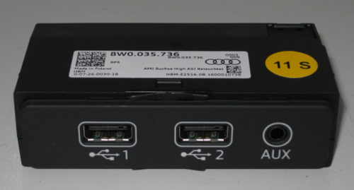 Audi AMI - 2 USB