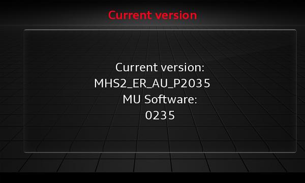 Audi Delphi MSH2 Scale Map + Activation 2021 - version info red menu