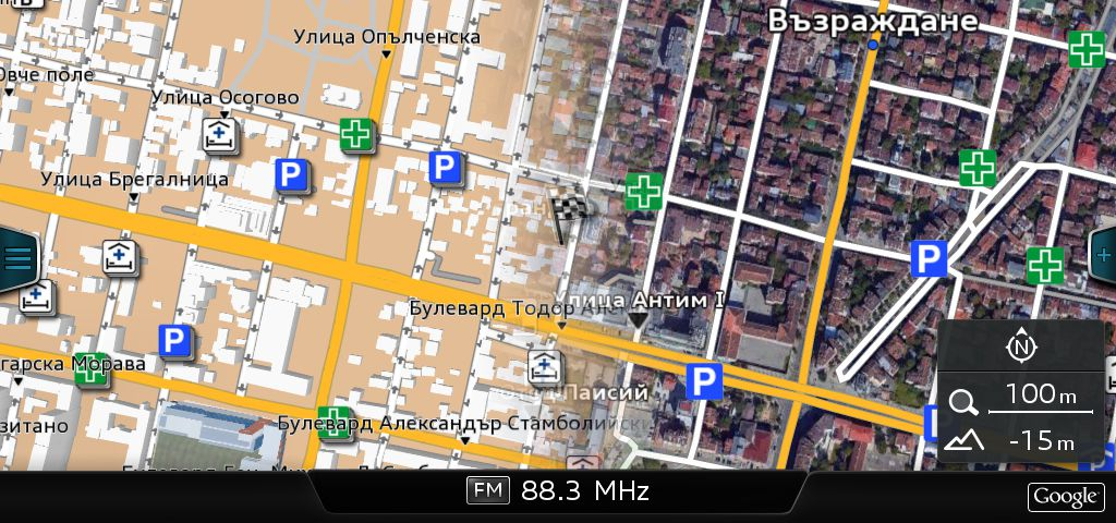Audi Google Earth Fix for GEMMI and GEMIB