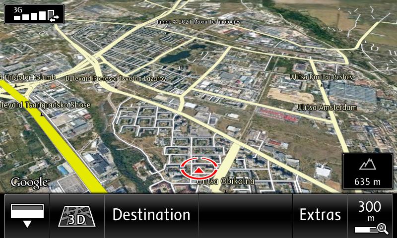 RNS850 Google Earth