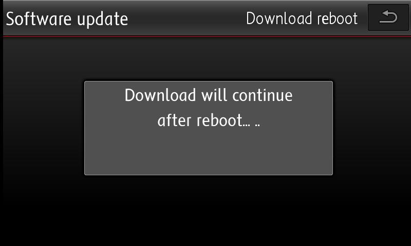 Update reboot