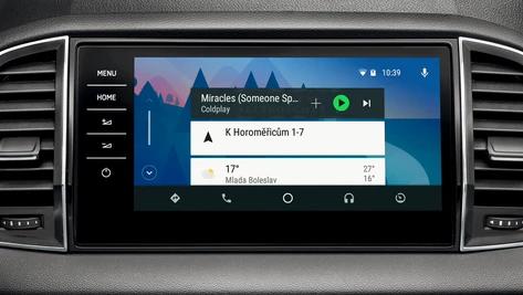 Škoda Android Auto