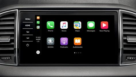 Škoda Apple carplay